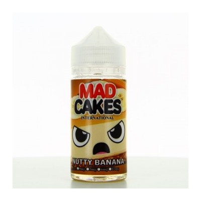 NUTTY BANANA-ZHC MIX SERIES- MAD CAKES-100ML-00MG