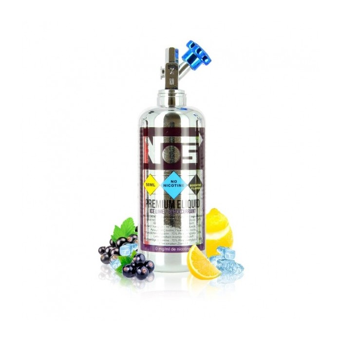 E LIQUIDE - NUMBER 5 - ICE LIME / BLACKCURRANT 50ML