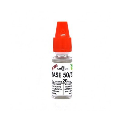 BOOSTER Base 10ml 50%PG / 50%VG (20mg) ExtraPure