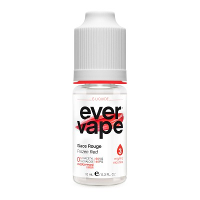 ever vape- Glace Rouge 10 ml