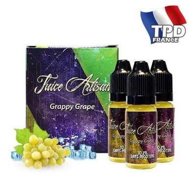 Grappy Grape (3x10ML) de Juice Artisan