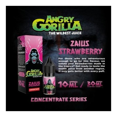 Concentré Zaius Strawberry - Angry Gorilla 10ml