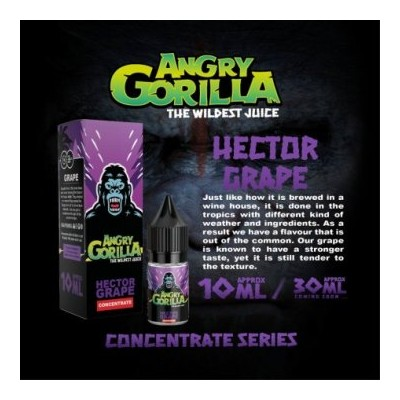 Concentré Hector Grape - Angry Gorilla 10ml
