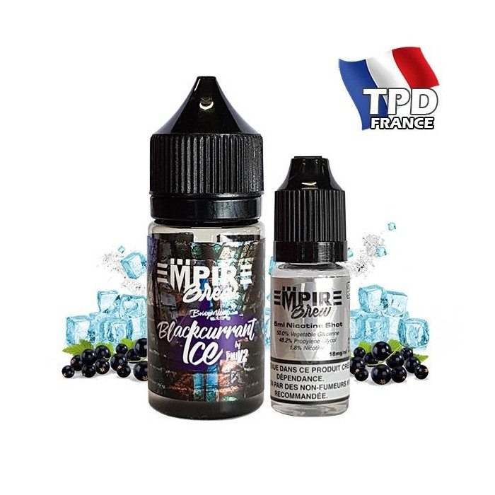 Blackcurrant Ice PMJ V2 - Empire Brew 25ML + Booster 5ML