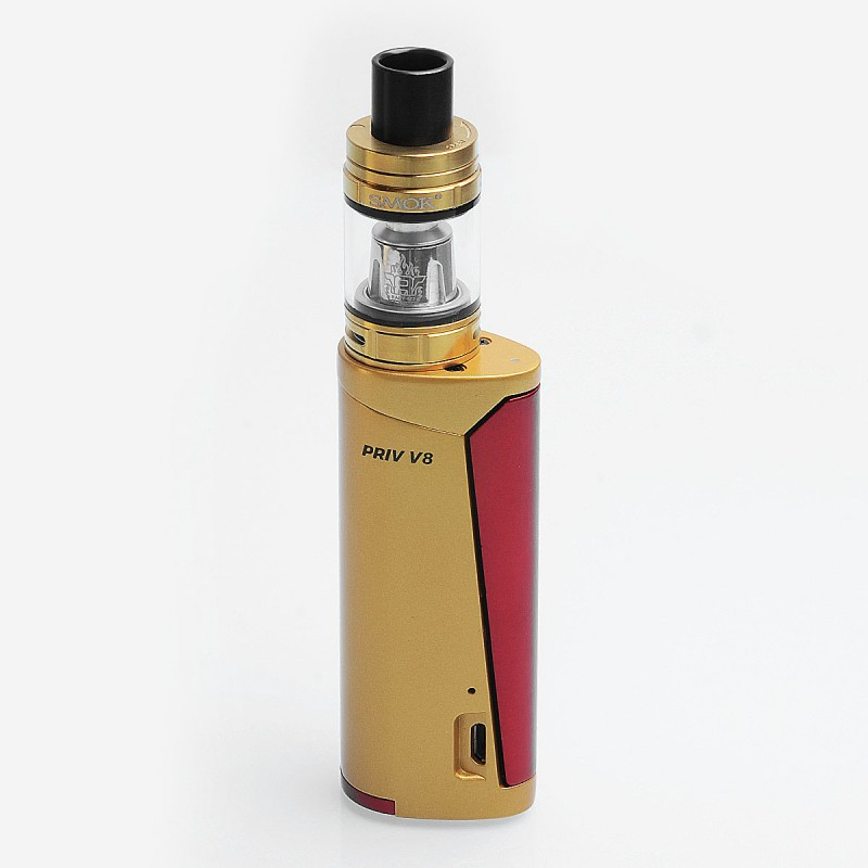 Gold Red-PRIV V8 SMOK